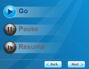 Nhấn Go để bắt đầu tìm mật khẩu