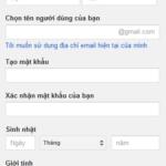 Tìm hiểu form đăng ký của một số trang web lớn