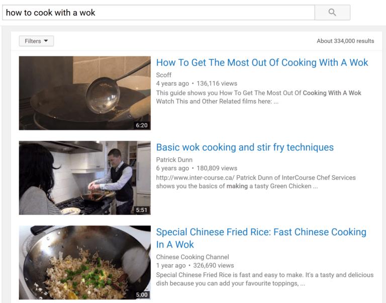 Video tìm thấy không nhất thiết phải khớp chính xác với cụm từ tìm kiếm
