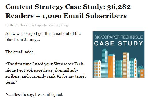 chia sẻ về case study tạo ra nhiều người đọc và chia sẻ