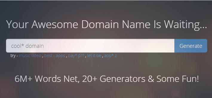 công cụ gợi ý tên miền Name Mesh