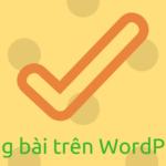 Cách đăng bài trên WordPress