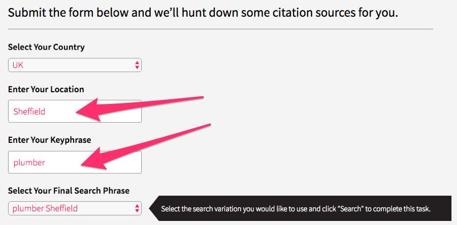 công cụ tìm kiếm trích dẫn