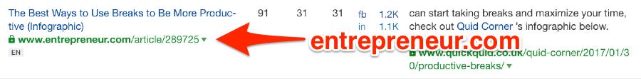 trang này được liên kết từ Entrepreneur